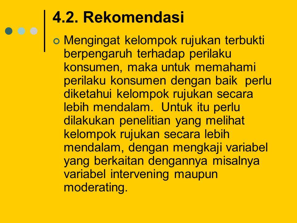 4.2. Rekomendasi