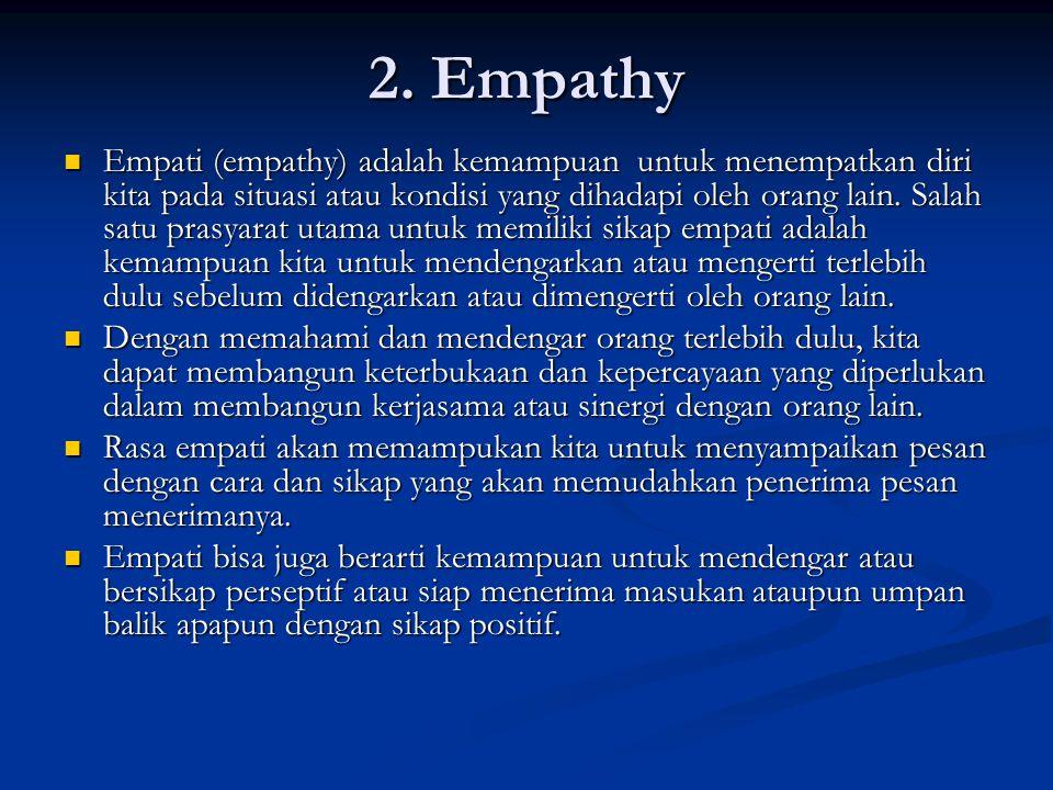 2. Empathy