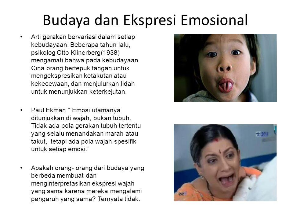 Budaya dan Ekspresi Emosional