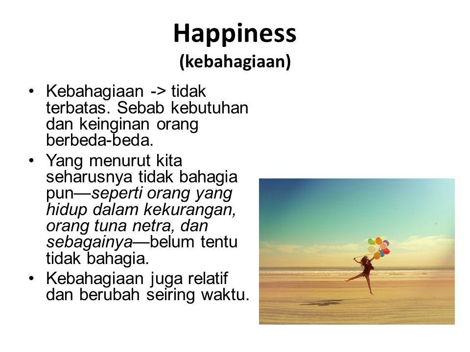 Happiness (kebahagiaan)