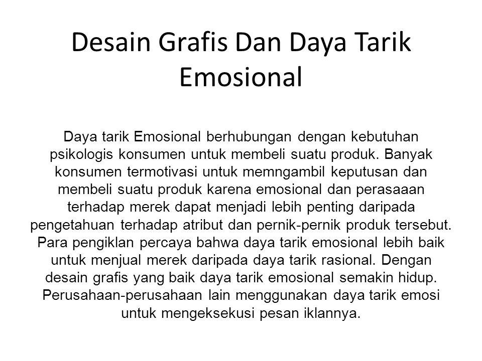 Desain Grafis Dan Daya Tarik Emosional