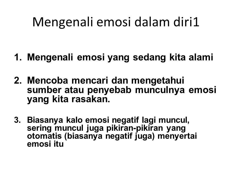 Mengenali emosi dalam diri1