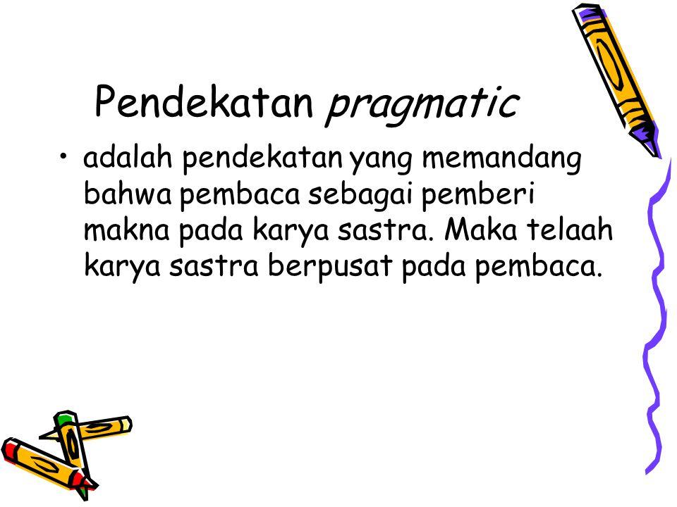 Pendekatan pragmatic