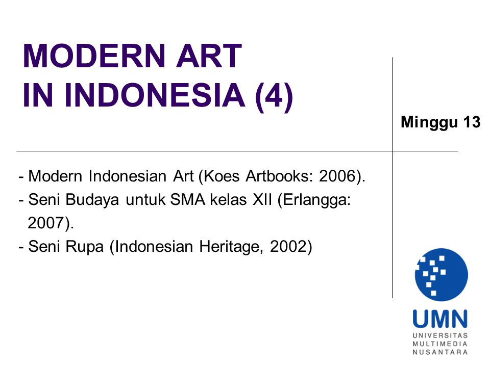 MODERN ART IN INDONESIA (4)