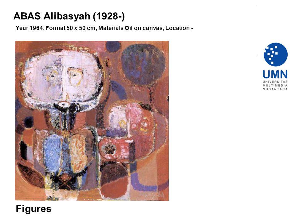 ABAS Alibasyah (1928-) Figures