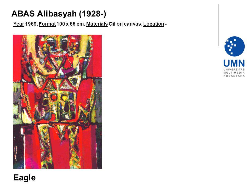 ABAS Alibasyah (1928-) Eagle