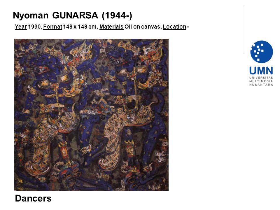 Nyoman GUNARSA (1944-) Dancers