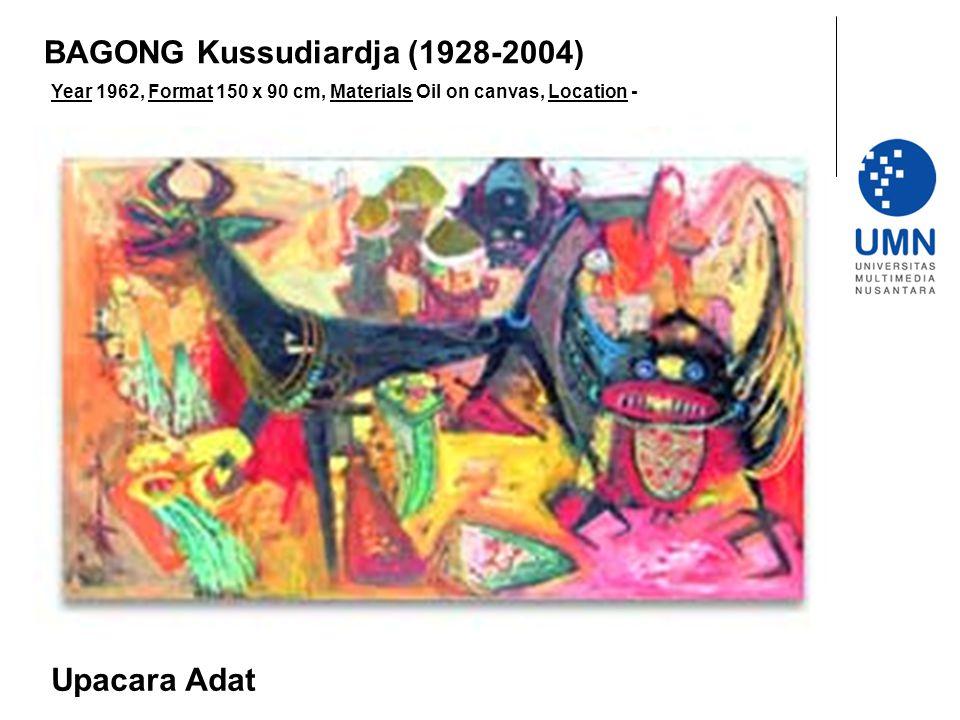 BAGONG Kussudiardja (1928-2004)