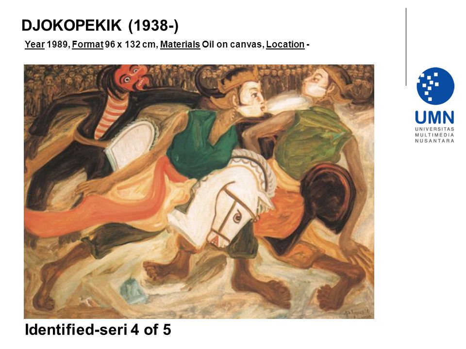 DJOKOPEKIK (1938-) Identified-seri 4 of 5