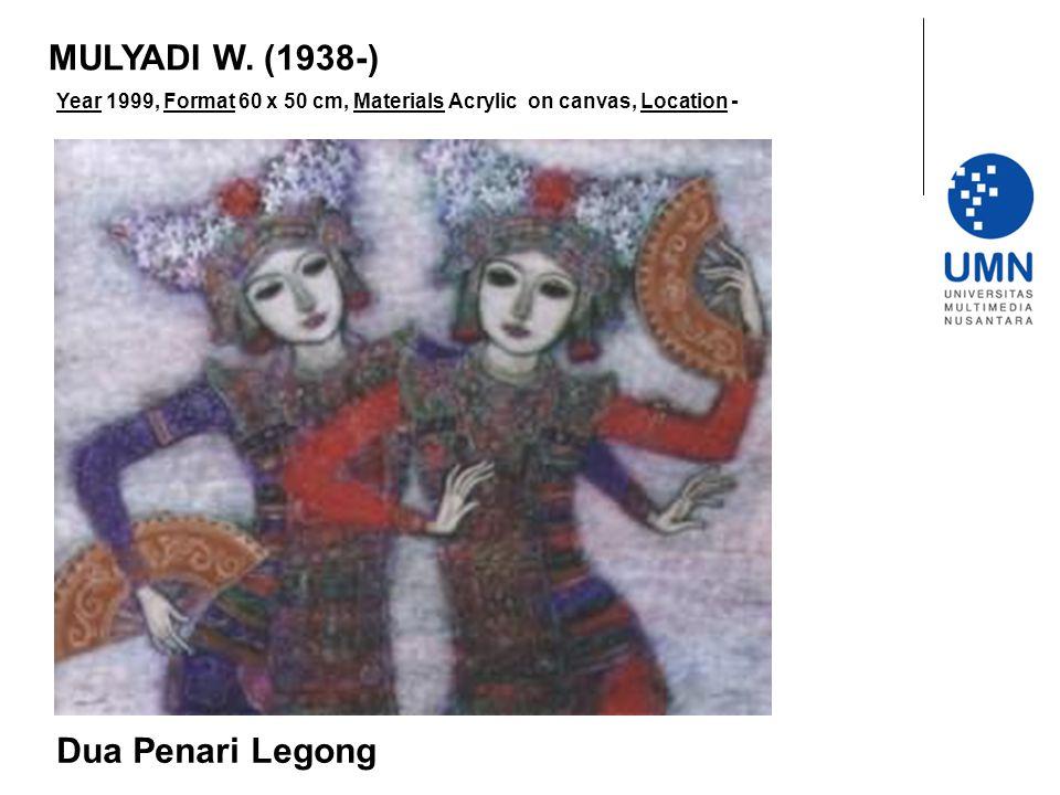 MULYADI W. (1938-) Dua Penari Legong
