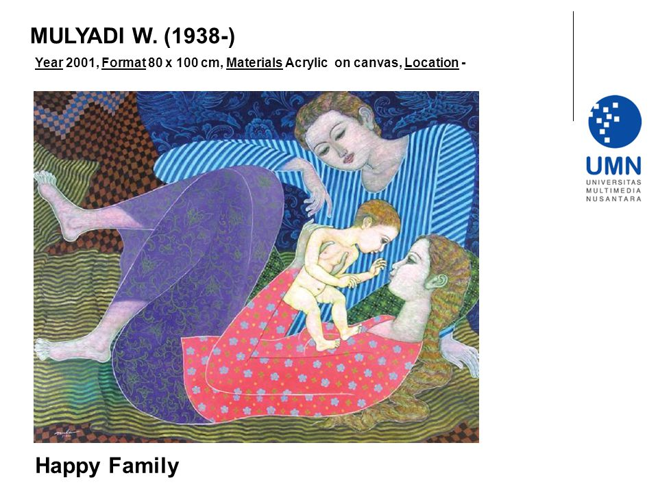 MULYADI W. (1938-) Happy Family