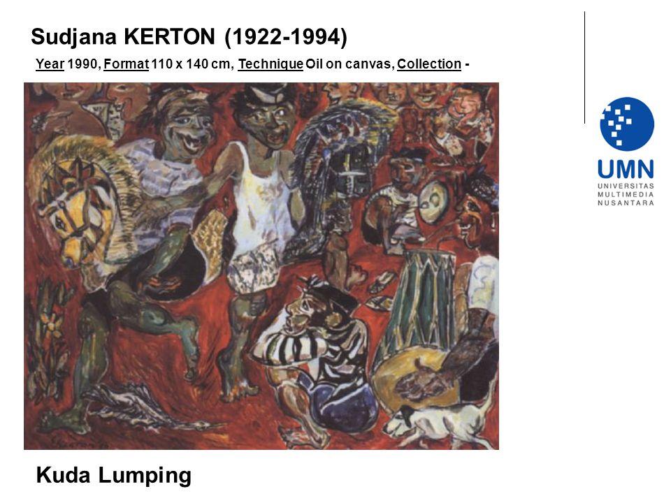 Sudjana KERTON (1922-1994) Kuda Lumping