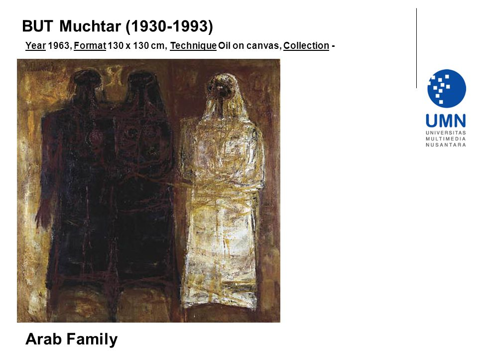 BUT Muchtar (1930-1993) Arab Family