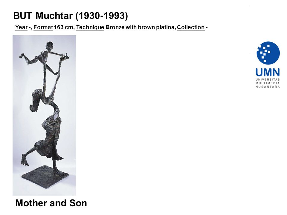 BUT Muchtar (1930-1993) Mother and Son