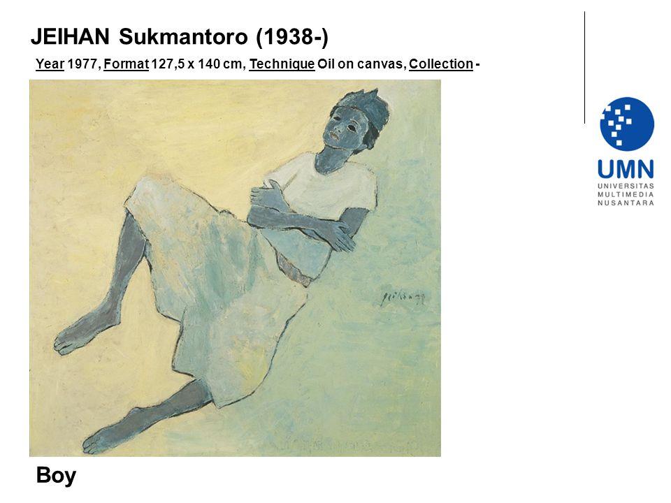 JEIHAN Sukmantoro (1938-) Boy