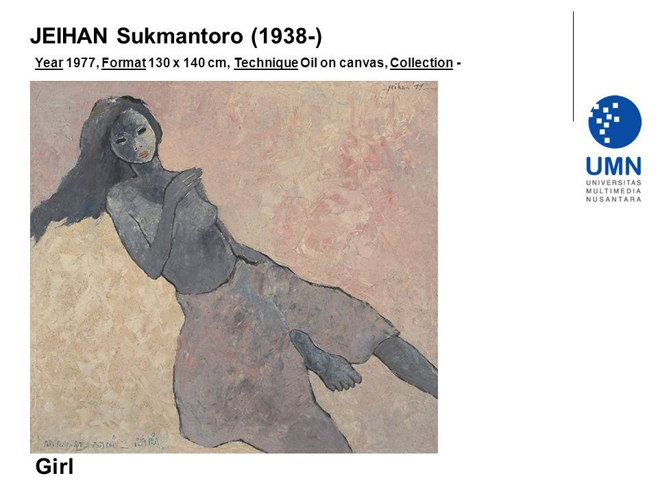 JEIHAN Sukmantoro (1938-) Girl