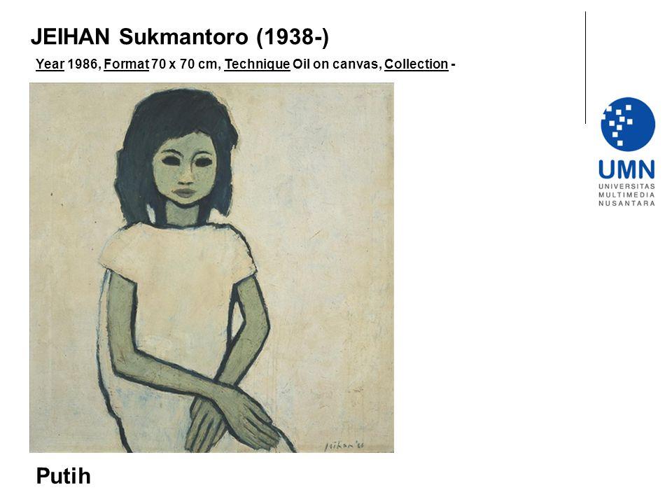 JEIHAN Sukmantoro (1938-) Putih