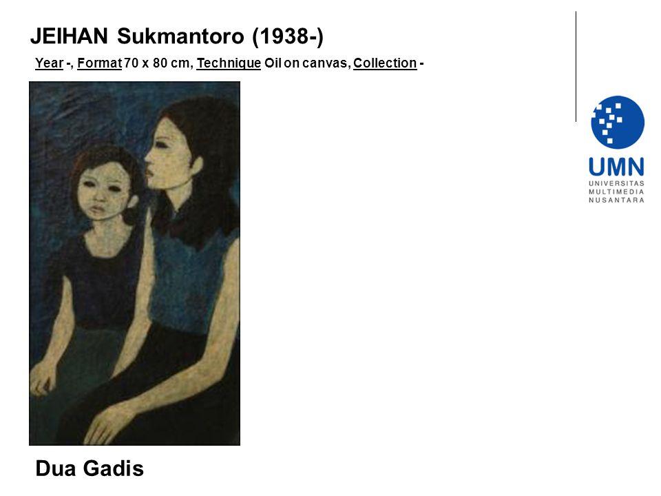 JEIHAN Sukmantoro (1938-) Dua Gadis