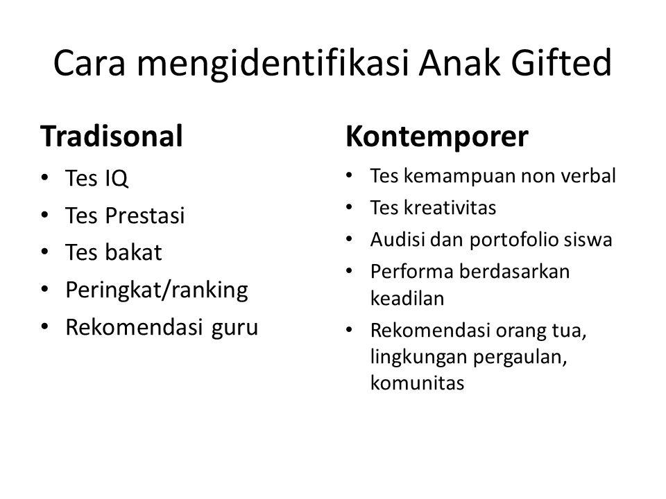 Cara mengidentifikasi Anak Gifted