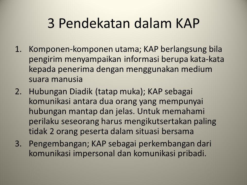 3 Pendekatan dalam KAP