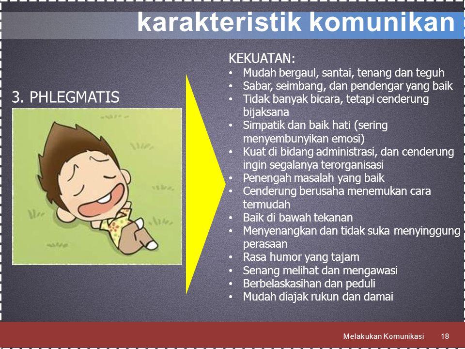 karakteristik komunikan