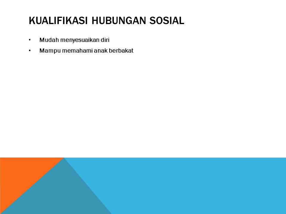 Kualifikasi hubungan sosial