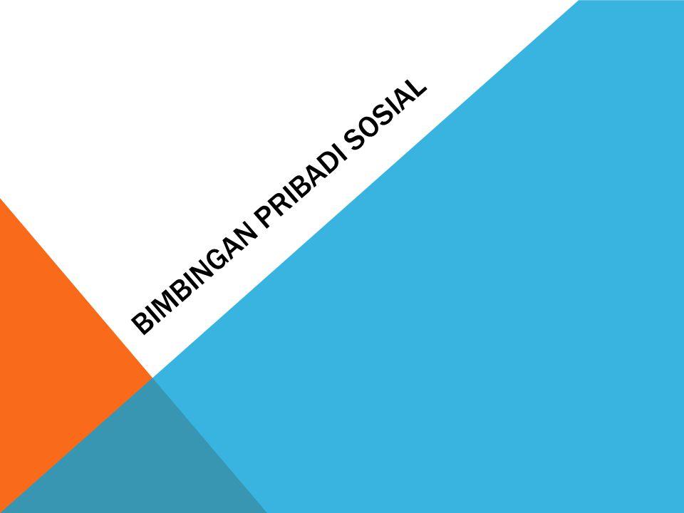 Bimbingan pribadi sosial