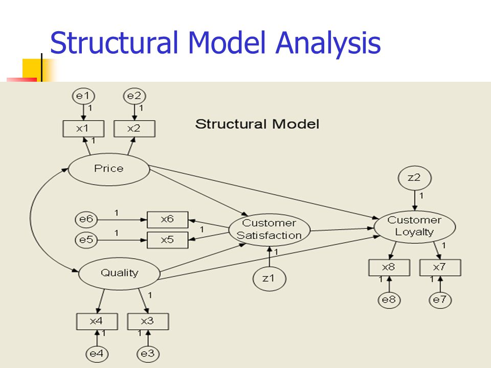 Structural Model Analysis