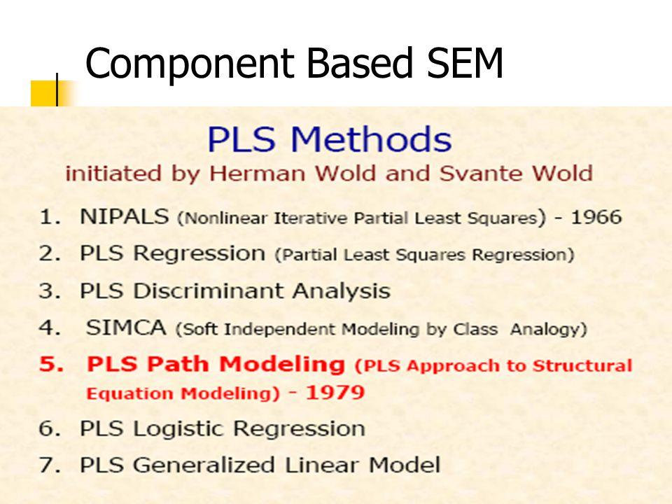 Component Based SEM