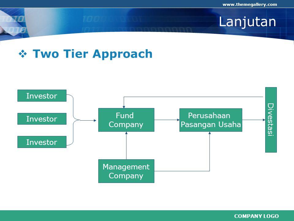 Lanjutan Two Tier Approach Divestasi Investor Fund Company Perusahaan