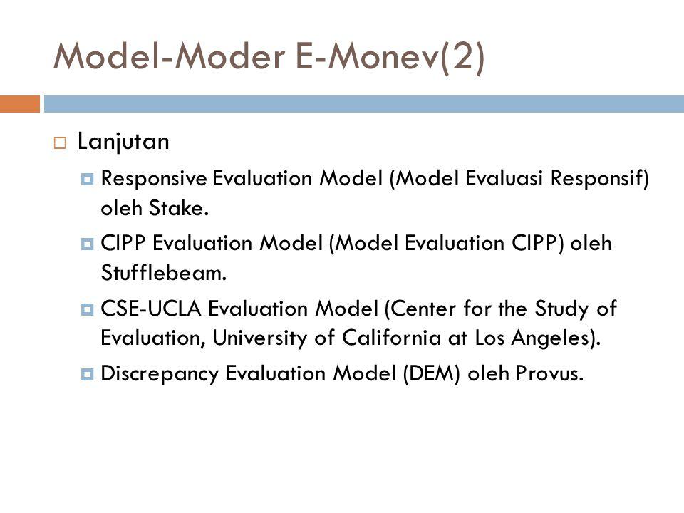 Model-Moder E-Monev(2)