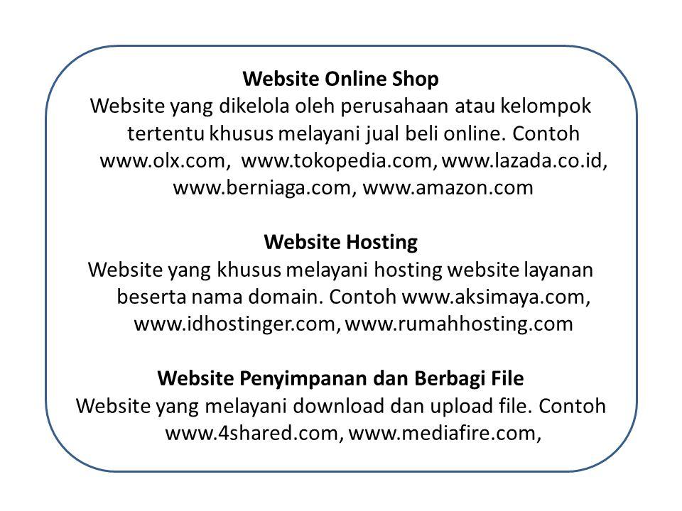 Website Penyimpanan dan Berbagi File
