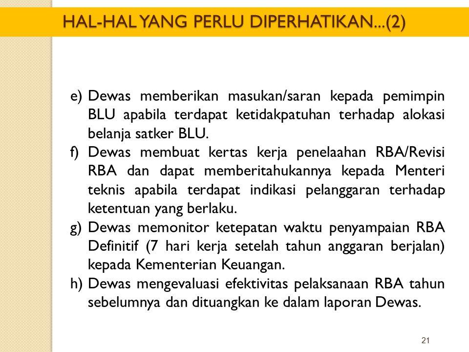 HAL-HAL YANG PERLU DIPERHATIKAN...(2)