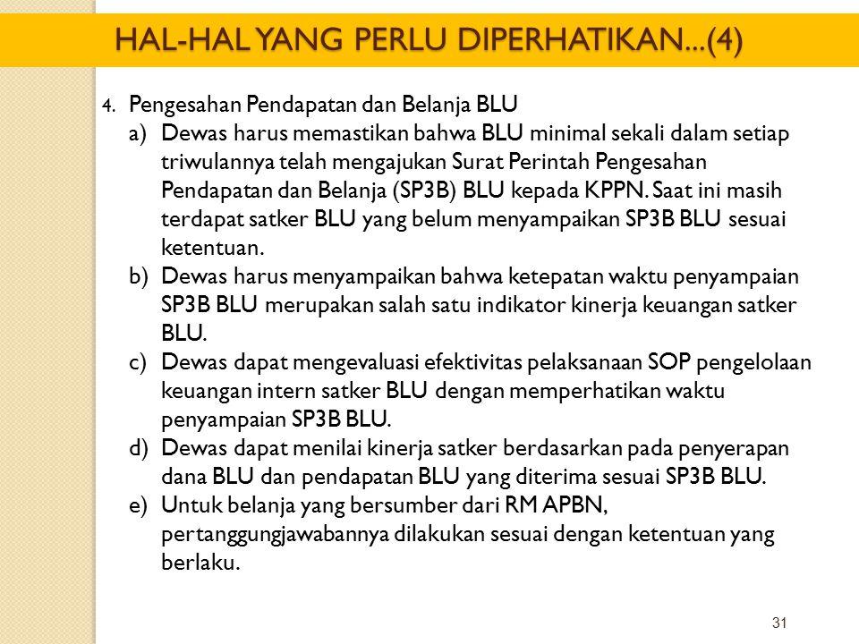 HAL-HAL YANG PERLU DIPERHATIKAN...(4)