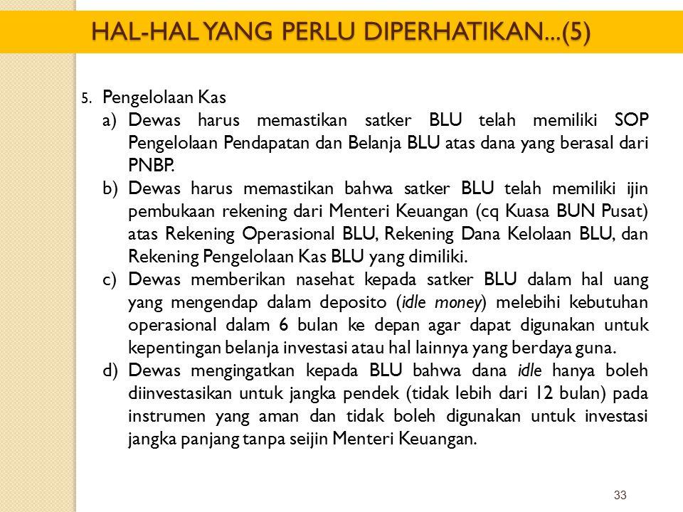 HAL-HAL YANG PERLU DIPERHATIKAN...(5)