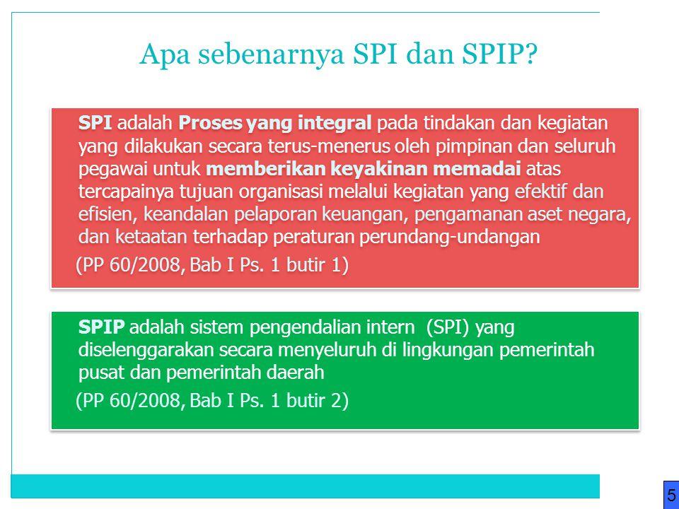 Apa sebenarnya SPI dan SPIP