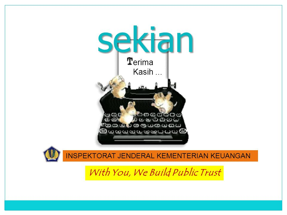 With You, We Build Public Trust