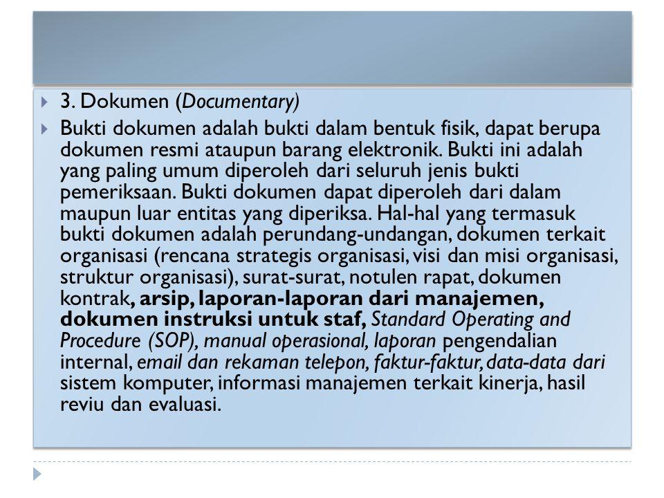 3. Dokumen (Documentary)