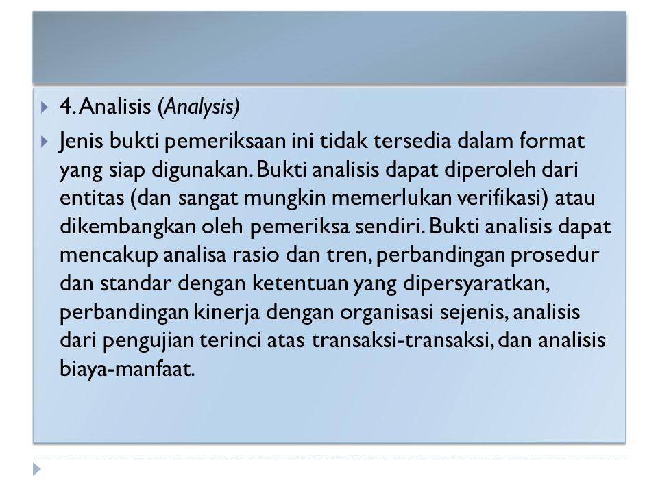 4. Analisis (Analysis)