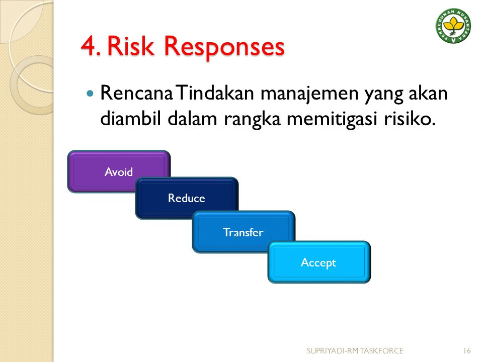 risk responses How can the answer be improved.
