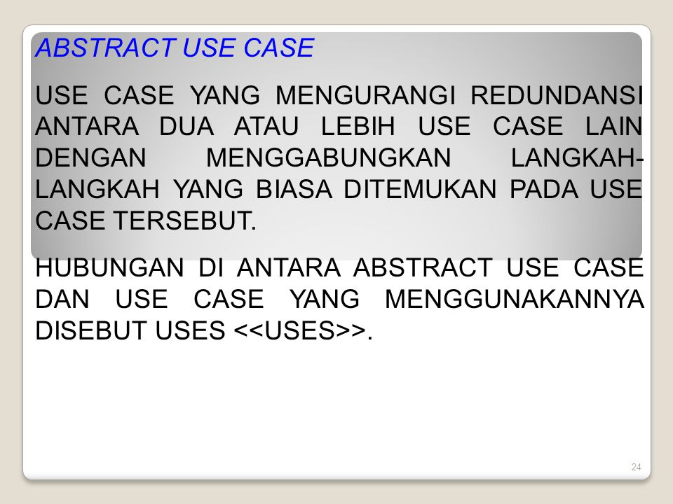 ABSTRACT USE CASE