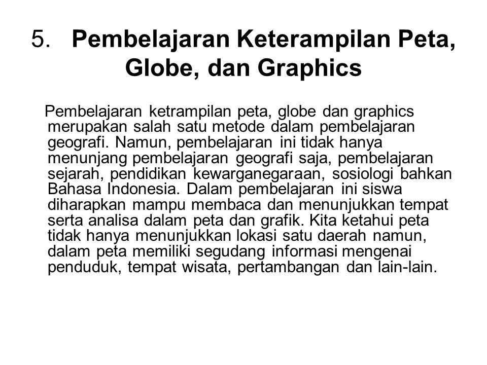 5. Pembelajaran Keterampilan Peta, Globe, dan Graphics
