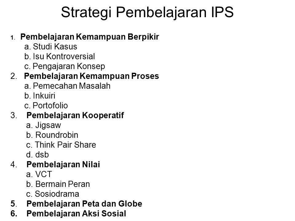 Strategi Pembelajaran IPS
