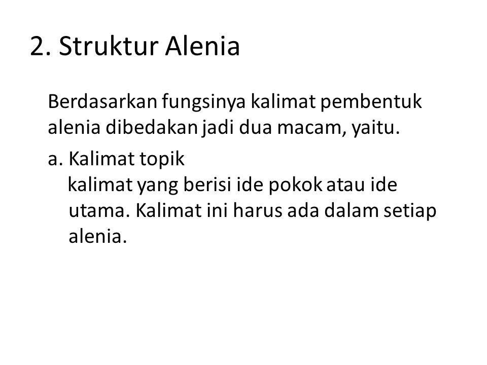 2. Struktur Alenia