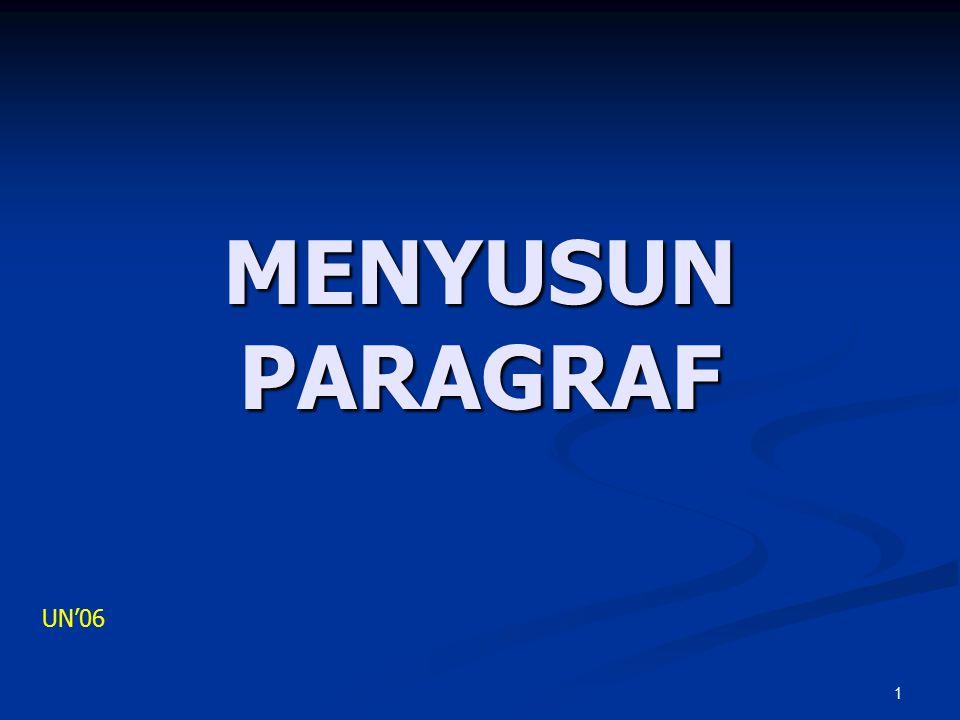 MENYUSUN PARAGRAF UN'06