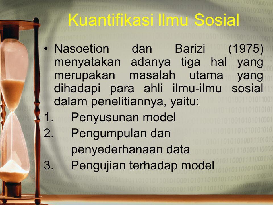 Kuantifikasi Ilmu Sosial