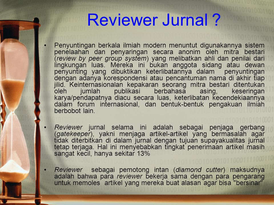Reviewer Jurnal