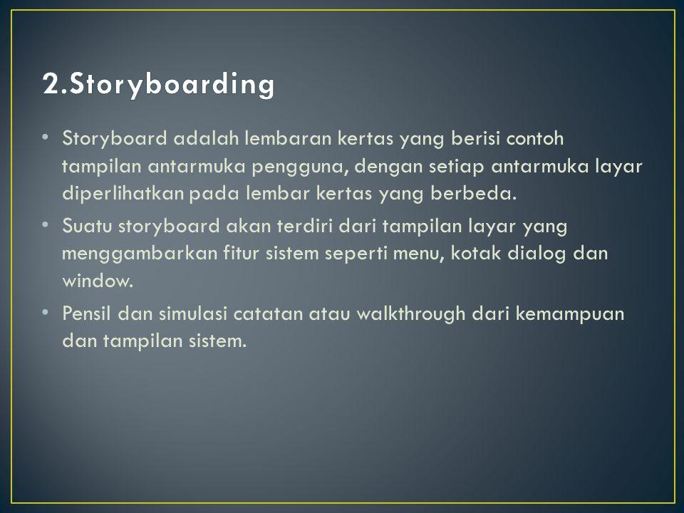 2.Storyboarding