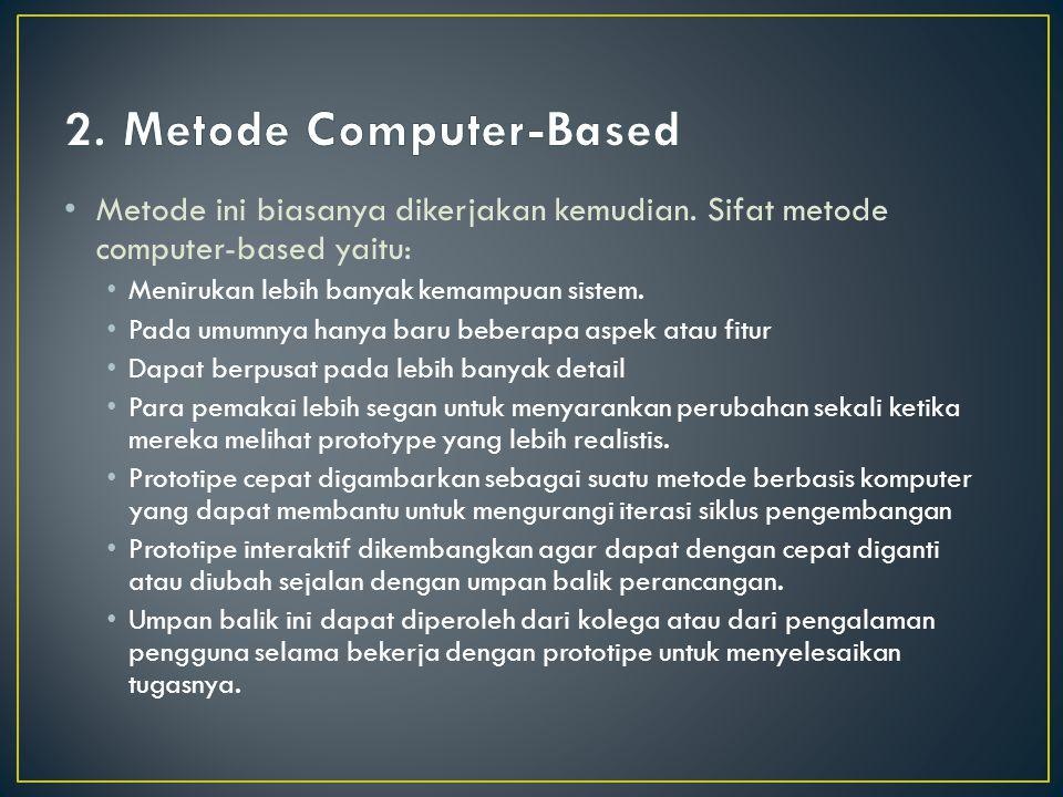 2. Metode Computer-Based