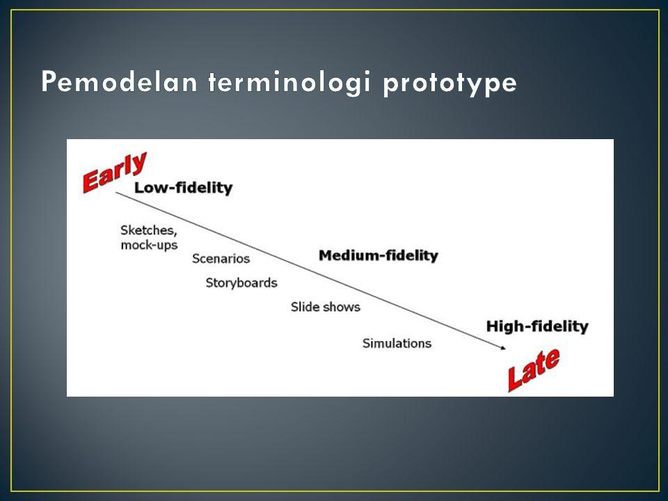 Pemodelan terminologi prototype